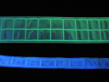 luminescent fabric for safety systems